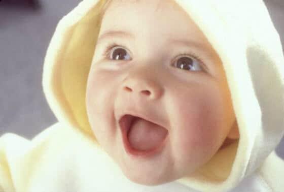 Dječje gugutanje i smijeh