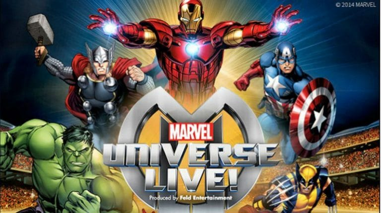 Marvel Universe super junaci oživljavaju na obiteljskoj predstavi koja stiže u Hrvatsku po prvi put