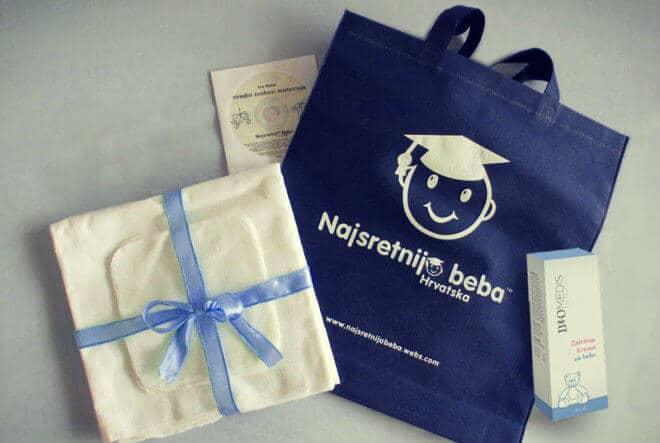 Poklon paket Najsretnija beba Hrvatska