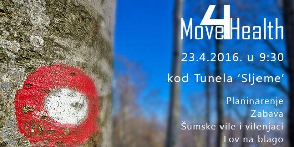 Move4Health na Sljemenu: pridruži se planinarskoj šetnji i napravi korak više za zdravlje!