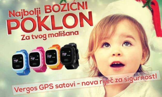 Vergos pametni GPS satovi – najbolji Božićni poklon za tvog mališana!