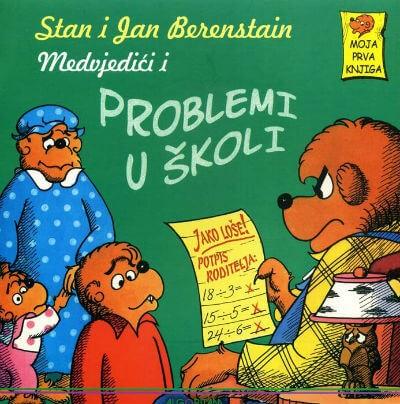 Medvjedić i problemi u školi