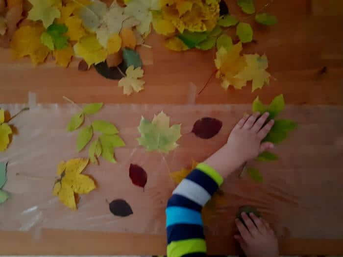 Aktivnosti za djecu s lišćem