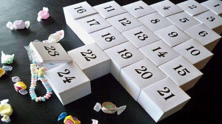 Uradi sam: Ideje za adventski kalendar