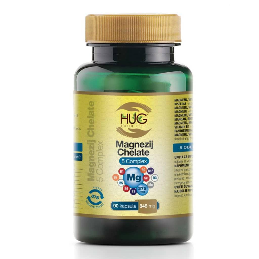 Magnezij Chelate 5 Complex® - Hug Your Life