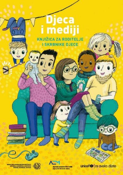 Djeca i mediji - knjižica za roditelje i skrbnike
