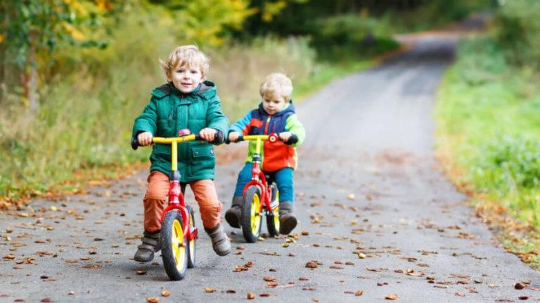 Dječji bicikli – tricikli, bicikl bez pedala i oprema za bicikl