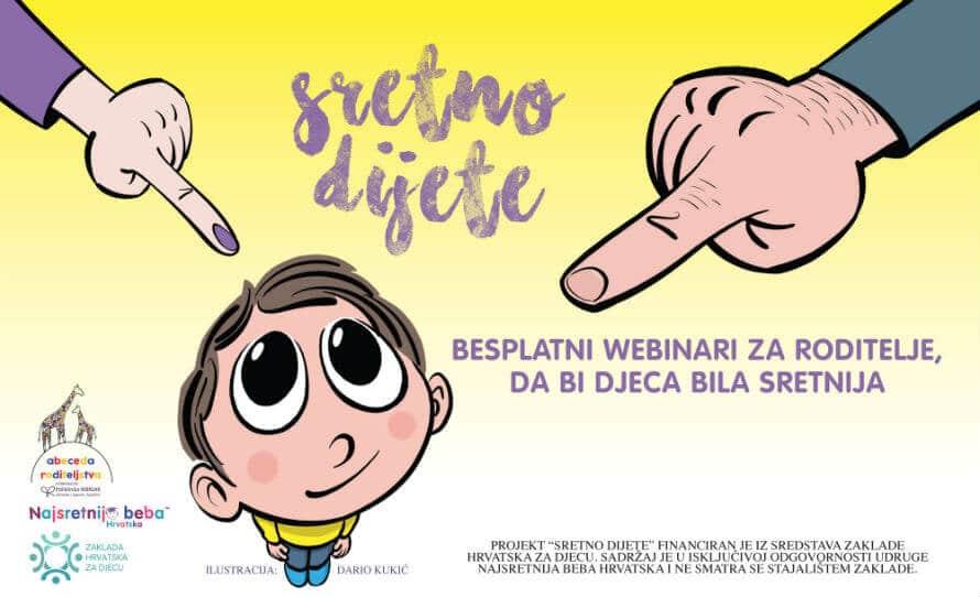 Projekt Sretno dijete - besplatni online seminari za