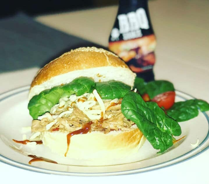 Pulled Pork Burger - recept