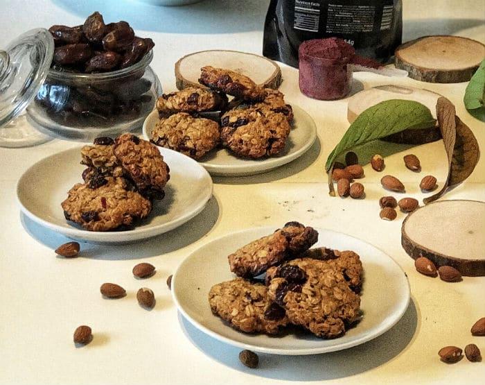 Zdravi keksi od brusnice - recept
