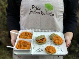 Recept: Pecivo od tapioka brašna s namazom od mrkve i češnjaka