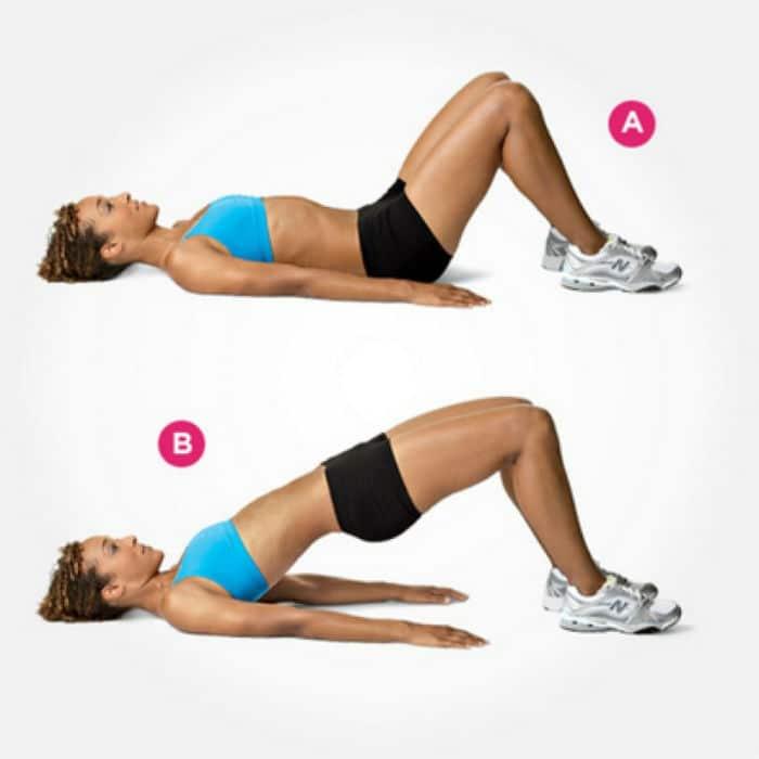 Vježbanje nakon poroda: Hip thrusteri