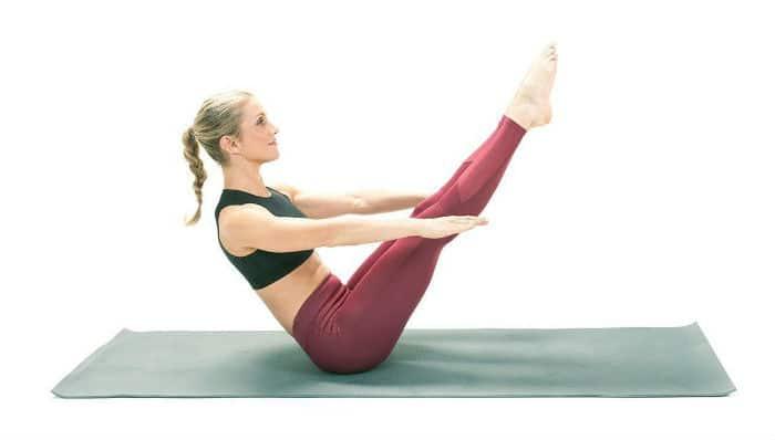 Vježbanje nakon poroda: V plank