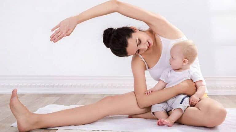 Vježbanje nakon poroda – trening za Vas i Vašeg malog fitness buddya