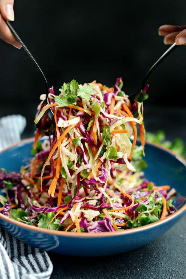 Salata s bučinim uljem