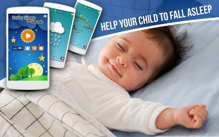 Aplikacije za bebe i djecu: Zvukovi za spavanje
