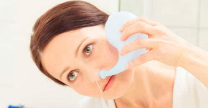Fiziološka otopina za ispiranje nosa
