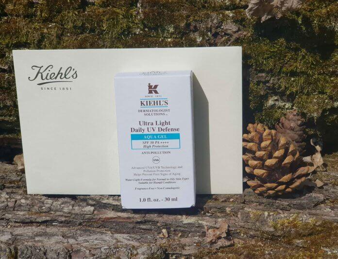 Recenzija: Khiel's Ultra Light Daily UV Defense Aqua Gel (SPF 50)