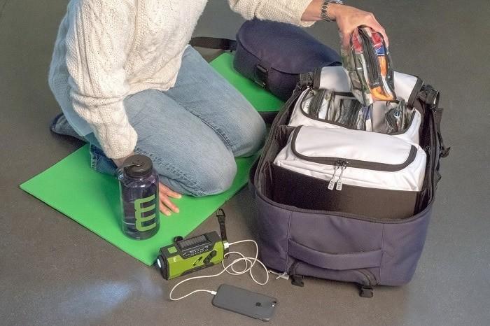 Torba za evakuaciju - što spakirati u slučaju potresa
