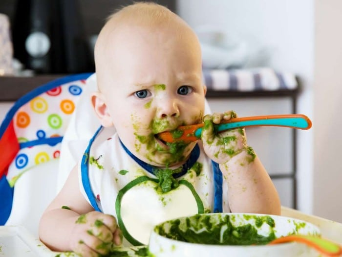 Namirnice bogate željezom - bebe i djeca