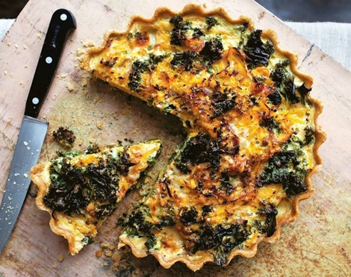 Namirnice bogate željezom - Tart od butternut tikve i kelja